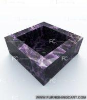 Amethyst-Gemstone-square-wash-basin-vessel-sink-LWB-102-View-3