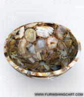 Brown-agate-round-wash-basin-vessel-sink-lwb-112-view-1