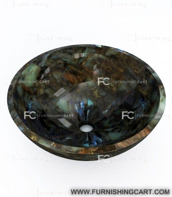 Labradorite-round-wash-basin-vessel-sink-LWB-123-view-1