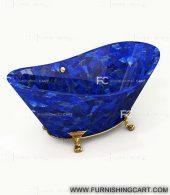 Lapis-lazuli-freestanding-bathtub-with-clawfoot-1