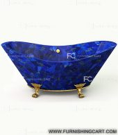 Lapis-lazuli-freestanding-bathtub-with-clawfoot-2