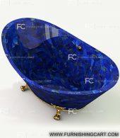 Lapis-lazuli-freestanding-bathtub-with-clawfoot-3