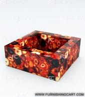 Red-agate-square-wash-basin-vessel-sink-lwb-121-view-1