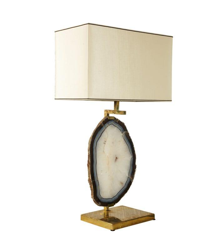 Black Agate Geode Crystal Lamp Tl 102 Decorative Lamp Sale