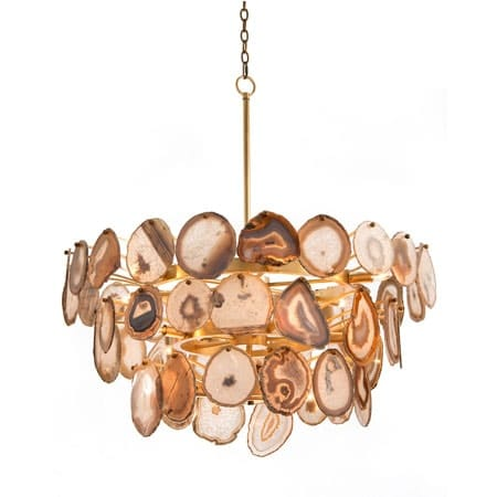 Crystal Gemstone Chandelier