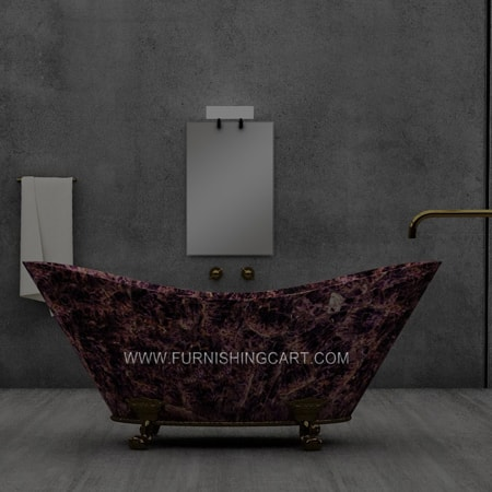 Freestanding Gemstone Bathtub