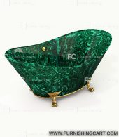 malachite-gemstone-freestanding-bathtub-with-clawfoot-1