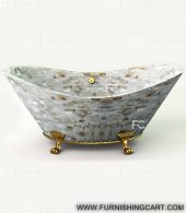 mother-of-pearl-white-freestanding-bathtub-with-clawfoot-2