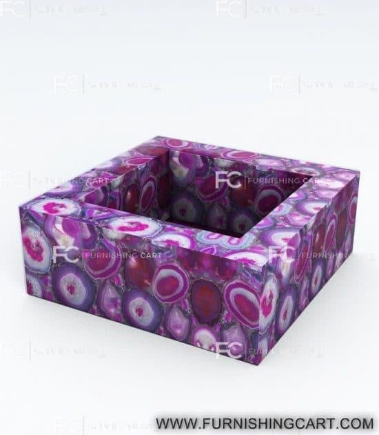 pink-agate-square-wash-basin-vessel-sink-LWB-119