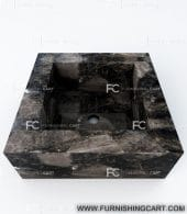 smoky-dark-square-wash-basin-vessel-sink-lwb-142-view-2