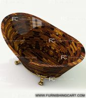tiger-eye-golden-freestanding-bathtub-with-clawfoot-3