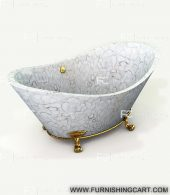 white-agate-freestanding-bathtub-with-clawfoot-1