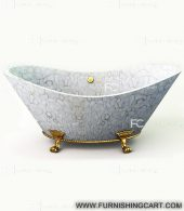 white-agate-freestanding-bathtub-with-clawfoot-2