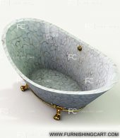 white-agate-freestanding-bathtub-with-clawfoot-3