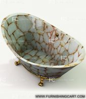 white-quartz-golden-sparkle-freestanding-bathtub-clawfoot-3
