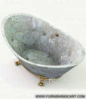 White-quartz-freestanding-bathtub-view-3