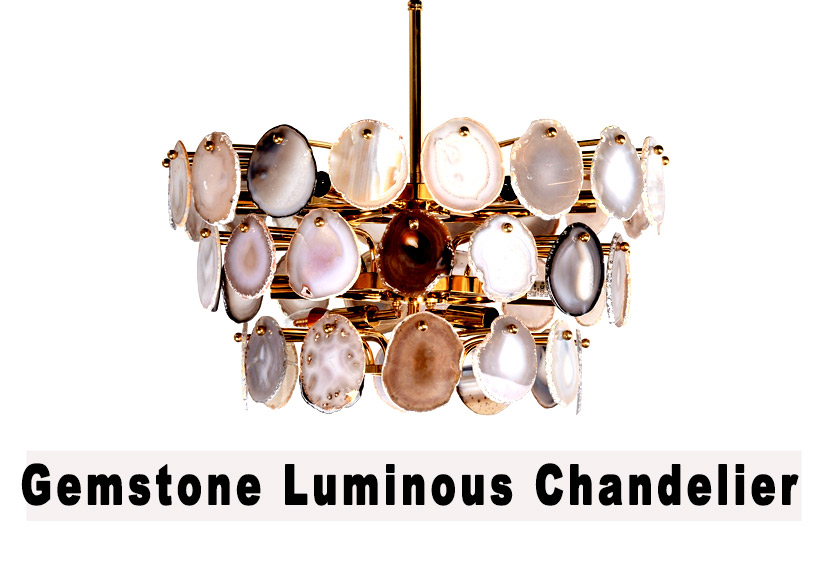Gemstone Chandelier for sale